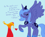 Luna's First Proclamation by Wolf-Fairy