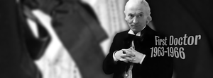 First Doctor Facebook cover by Leda74