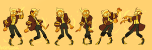 Bumblebee Agate - LET'S FUSE! by CharliOak