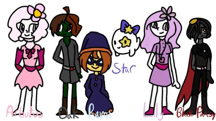The Servant Squad - Forestiya by princess--magician