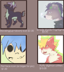 Commission sheet price ref page 1 of 2 by TK274