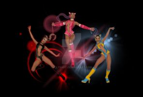 Leo Brigade aka Techno Tabbies by illysArt