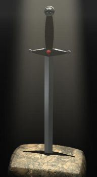 Sword In The Stone by drion4