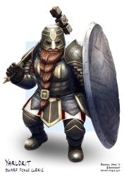 C: Yarldrit, Dwarf Forge Cleric by bchart