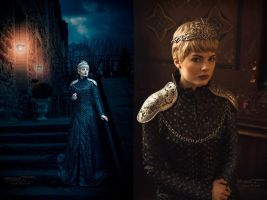 Cersei Lannister [Coronation Gown] by FaerieBlossom
