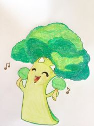 Get high on broccoli by pico-pito