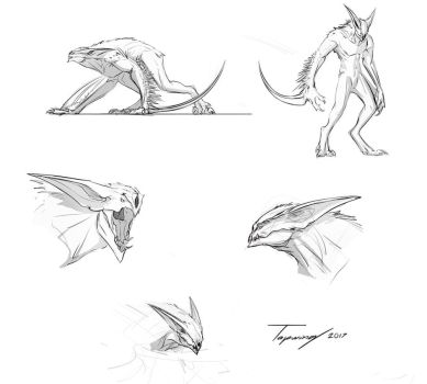 Reaperdodles by Tapwing