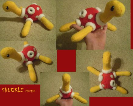 Shuckle Plushie by Endivinity