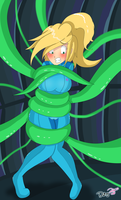 AT: Tentacles n Samus by Daisy-Pink71