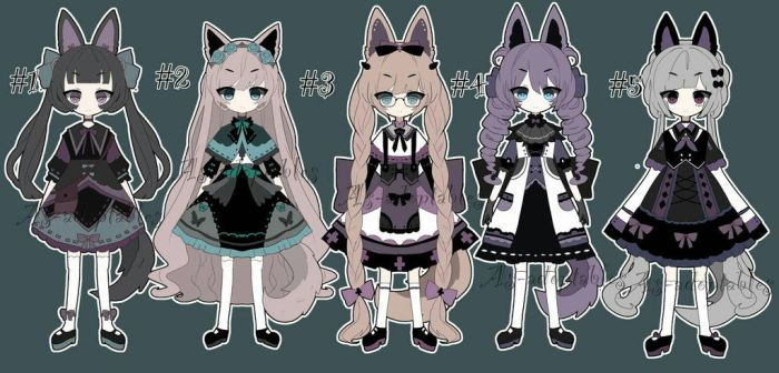 kemonomimi adoptable open price lowered by AS-Adoptables