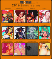 2016 Summary of Art by Mr5star
