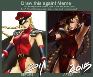 Draw This Again: Bison Alt Cammy by TixieLix