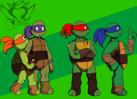Turtle Tots by AngelRaiRay