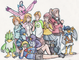TDA: Welcome to the Sisterhood of the Feather by ClimbTheCastleWalls