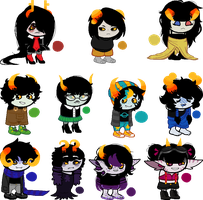 Fantroll adoptables - (0/11) - CLOSED by H0L0GRAPHICS