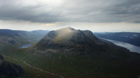 Beinn Dearg Mor, Fisherfield, Highlands, Scotland by younghappy