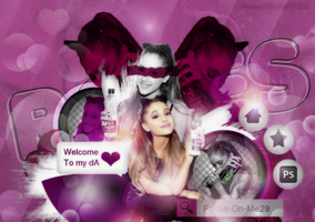 NEW ID| Roses / Happy Bday Ariana by Focus-On-Me29