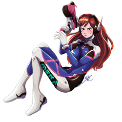 D.Va Commission by GreatPeace