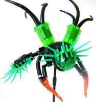 Bionicle MOC: Neural Parasite by LordObliviontheGreat