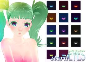 [MMD] sterilEYES spotless +DL by HiLoMMD