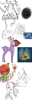 Sketch dump by Crying-Colours
