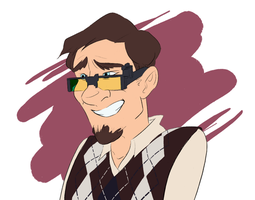 look at this little nerd by CalmingSoul