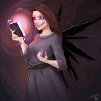 Shinigami Girl, The Harbinger of Death by NaiBuff