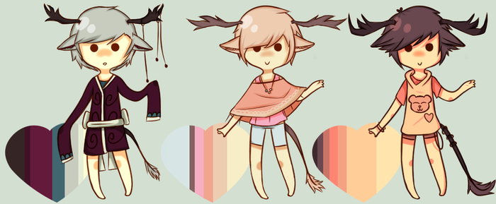 Adopts #45-47 CLOSED by Tochi-Adopts