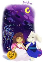 Undertale Halloween by BubbleDriver