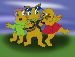 The Toadlet Jammers by Tinker-Jet