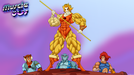 Muscle 80s - Thundercats. by Atariboy2600