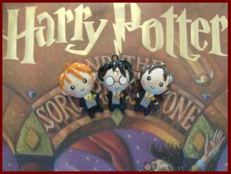 Chibi-Charms: Harry Potter 3 by MandyPandaa