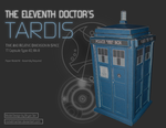 Doctor Who - The Doctor's TARDIS Papercraft by RocketmanTan
