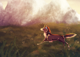 Chasing the Sun:: Comm by cinnafoxe