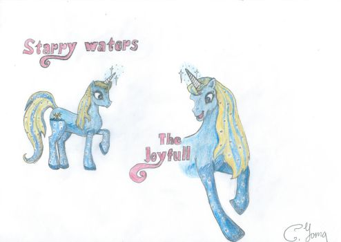 Starry Waters-The Joyfull-My Little Pony by CYoma