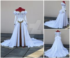 Charlotte Elbourne dress commission by lady-narven