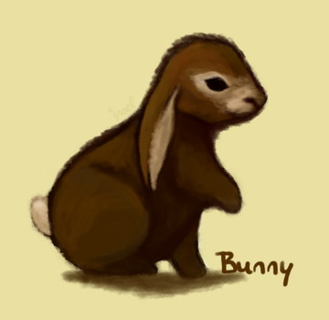 Bunny Speed Paint by BoogieSnail