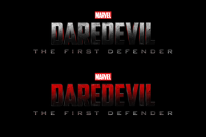 Marvel's DAREDEVIL: THE FIRST DEFENDER - LOGO by MrSteiners