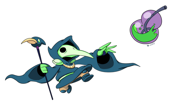 Plague Knight by Cogmoses