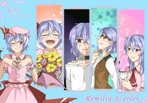 Remilia Scarlet by void-contains-all