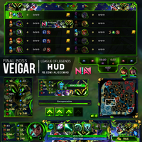 Final Boss Veigar HUD - League of Legends by AliceeMad