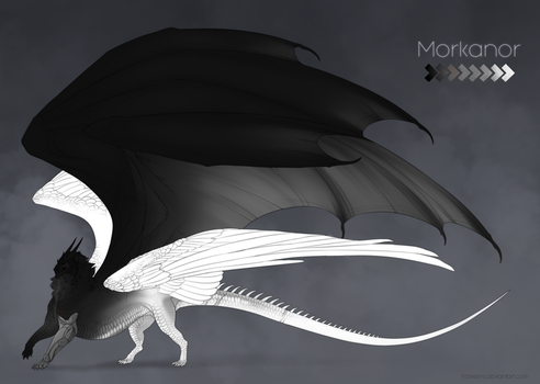 Morkanor | Reference Sheet | Commission by Haskiens
