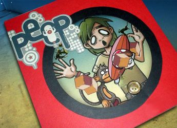 My Peep graphic book by caramelaw
