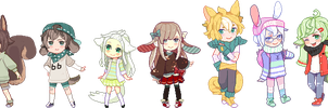 CM: all 7 by fuanteinaa