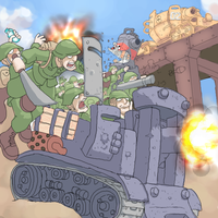 metal slug:rebel assault by cuatico