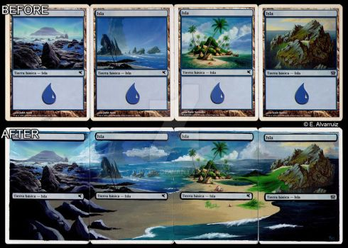 Islands altered (Magic) by PiNxOs