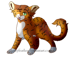 Heartstripe3//commission by phonyfeather