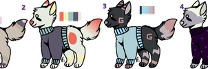 *CLOSED*Sweater Dogs OTA by SweetZtea