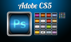 Adobe CS5 Replacement Set by kaishinchan