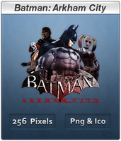 Batman Arkham City - Icon 2 by Crussong